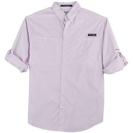 New! Columbia Mens PFG Super Tamiami Hydrangea Shirt