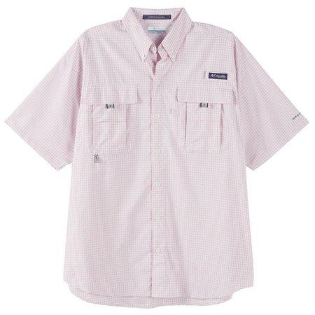 Columbia Mens Super Bahama Cupid Gingham Shirt