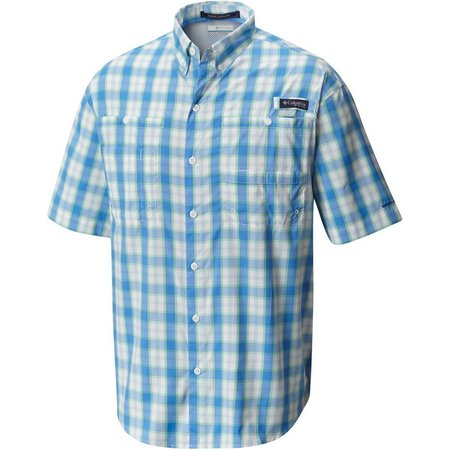 Columbia Mens PFG Super Tamiami Harbour Shirt