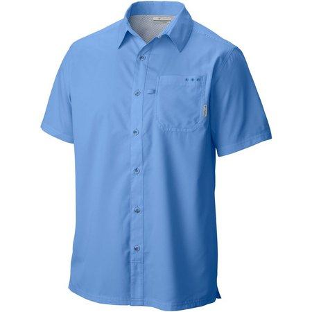 New! Columbia Mens PFG Slack Tide Camp Shirt