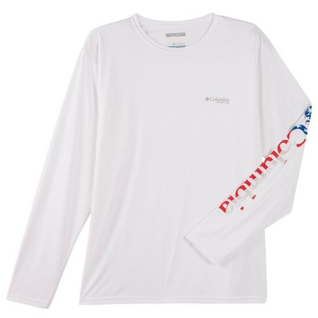 Columbia Sportswear Mens Americana Tackle T-Shirt