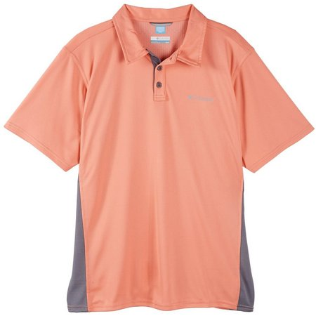 New! Columbia Mens Cool Coil Polo Shirt