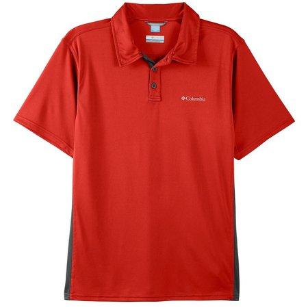Columbia Mens Cool Coil Polo Shirt