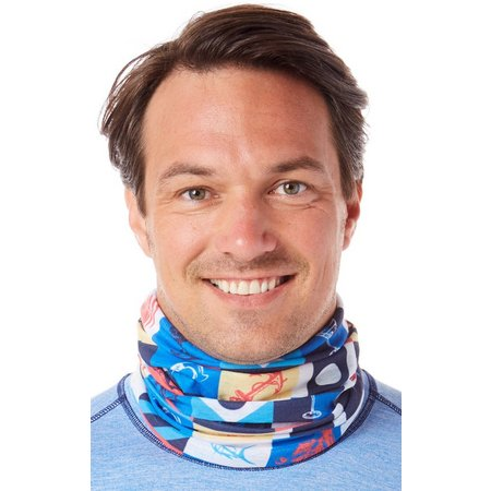 Columbia Mens Flags Solar Neck Gaiter