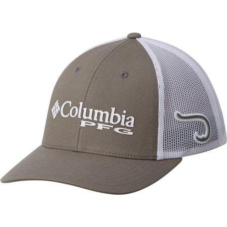 Columbia Mens Hook PFG Mesh Snap Back Hat
