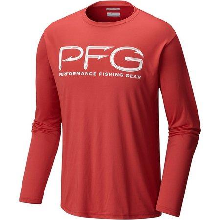 Columbia Mens Terminal Tackle PFG Hooks Shirt