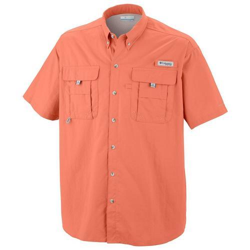 Columbia Mens Pfg Bahama Ii Short Sleeve Shirt Bealls