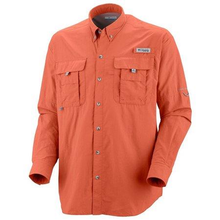 Columbia Mens Long Sleeve PFG Bahama II Shirt