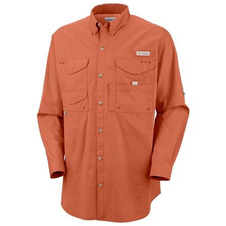 Columbia Mens Long Sleeve Bonehead Shirt
