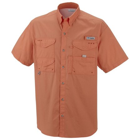 New! Columbia Mens PFG Bonehead Short Sleeve Shirt