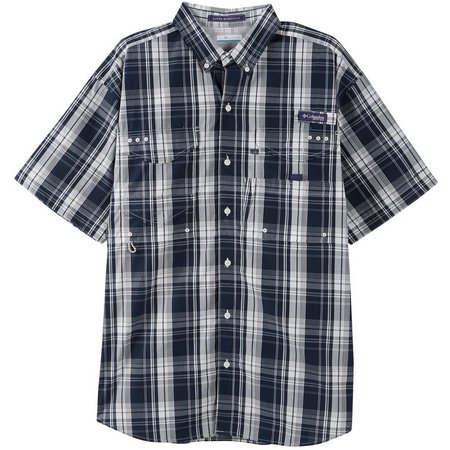 Columbia Mens Super Bonehead Collegiate Navy Shirt
