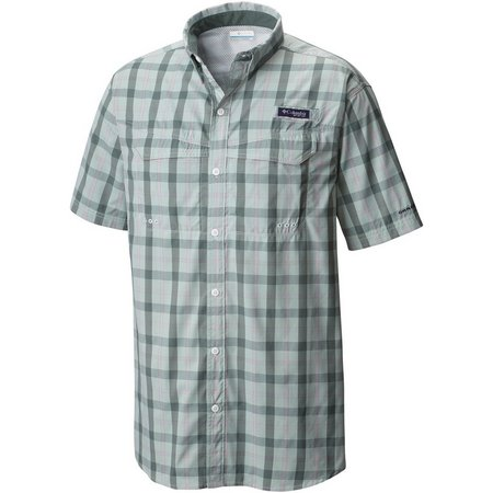 New! Columbia Mens Pond Super Low Drag Shirt