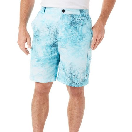 Reel Legends Mens Bonefish Ice Vortex Shorts