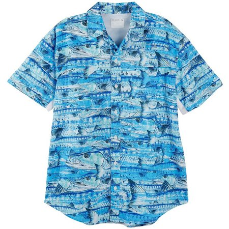 Reel Legends Mens Mariner Barracuda Shirt