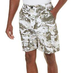 Reel Legends Mens Mountain Camo Bonefish Shorts