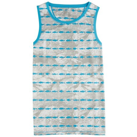Reel Legends Mens Freeline Grand Slam Tank Top