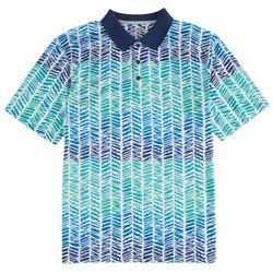 Reel Legends Mens Freeline Resort Weave Polo Shirt