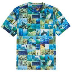Reel Legends Mens Freeline Nolan Collage T-Shirt