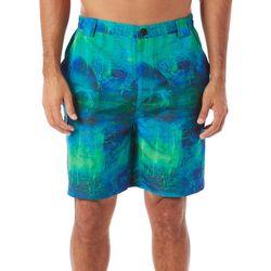 Reel Legends Mens Bonefish Paint Drop Shorts
