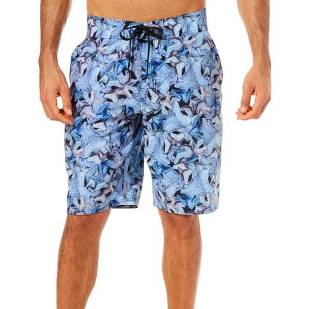 Reel Legends Mens Chomp Seahunt Boardshorts