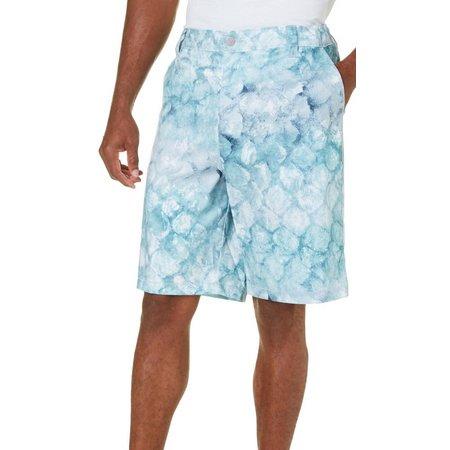 Reel Legends Mens Snapper Grey Hybrid Shorts