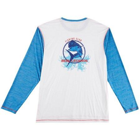 Reel Legends Mens Reel-Tec Fishing Club Long Sleeve