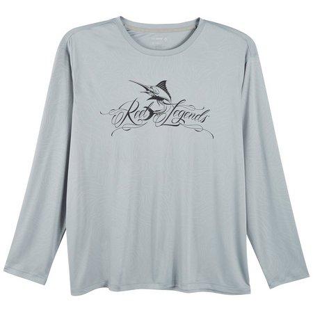 Reel Legends Mens Keep It Cool Marlin Logo
