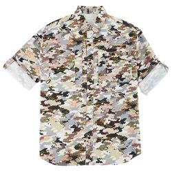 Reel Legends Mens Saltwater Cyber Digi Shirt