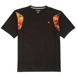 Reel Legends Mens Freeline Black Man Palms T-Shirt
