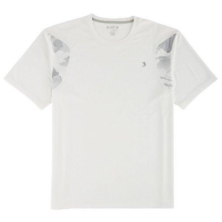 Reel Legends Mens Freeline White Camo Ice T-Shirt