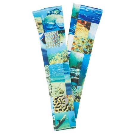 Reel Legends AquaFlauge Nolan Collage Sun Sleeves