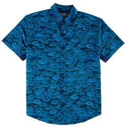 Reel Legends Mens Mariner Permit Shirt