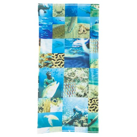 Reel Legends Mens Sea Life Collage Neck Shield