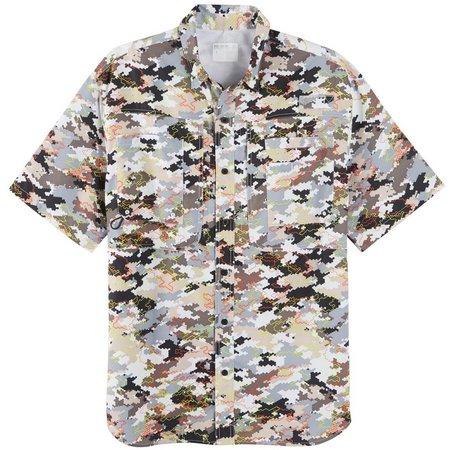 Reel Legends Mens Cyberdigi Saltwater Shirt