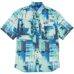 Reel Legends Mens Power Boat Saltwater Shirt