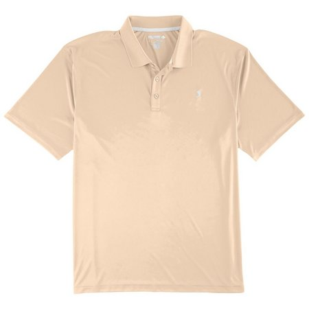 Reel Legends Mens Freeline Solid Polo Shirt