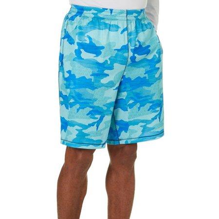 Reel Legends Mens Reel Fresh Camo Shorts
