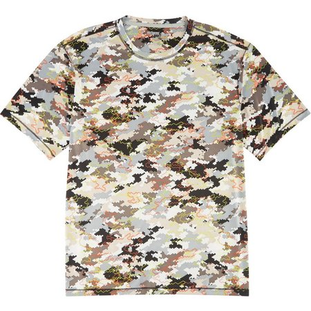 Reel Legends Mens Freeline Cyber Digi Shirt
