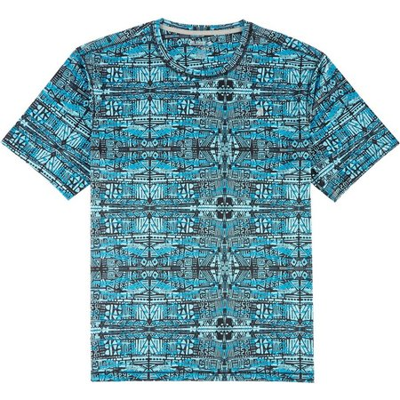 Reel Legends Mens Freeline Circuit Board Shirt