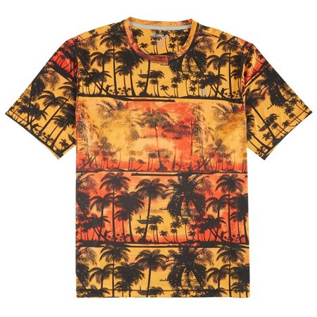 Reel Legends Mens Freeline Man Palms T-Shirt