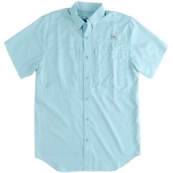 Reel Legends Mens Short Sleeve Saltwater Shirt