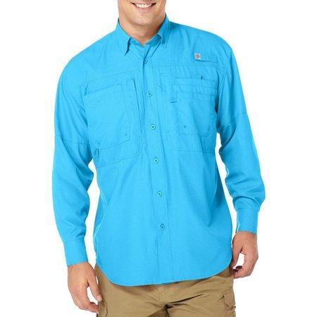 Reel Legends Mens Long Sleeve Saltwater Shirt