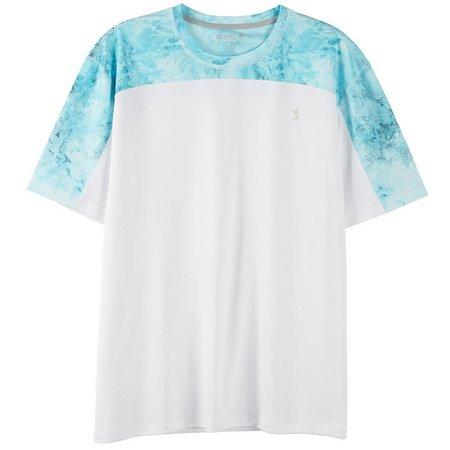 Reel Legends Mens Reel-Tec Half Ice Vortex T-Shirt