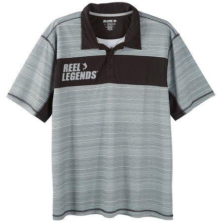 Reel Legends Mens Quarry Freeline Polo Shirt