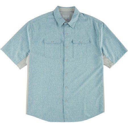 Reel Legends Mens Billfish Short Sleeve Shirt