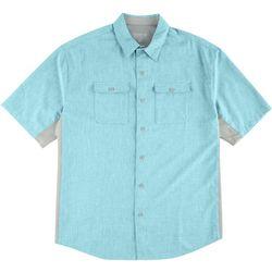 Reel Legends Mens Billfish Short Sleeve Shirt