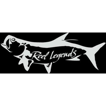Reel Legends Tarpon Vinyl Decal