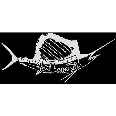 Reel Legends Sailfish Vinyl Decal