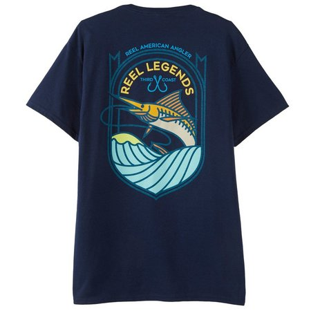 Reel Legends Mens Third Coast T-Shirt