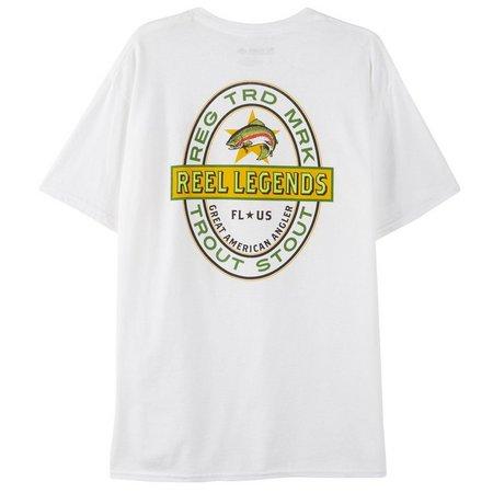 Reel Legends Mens Trout Stout T-Shirt